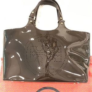 Tory Burch Bombe Tote in Chocolate | Never Used